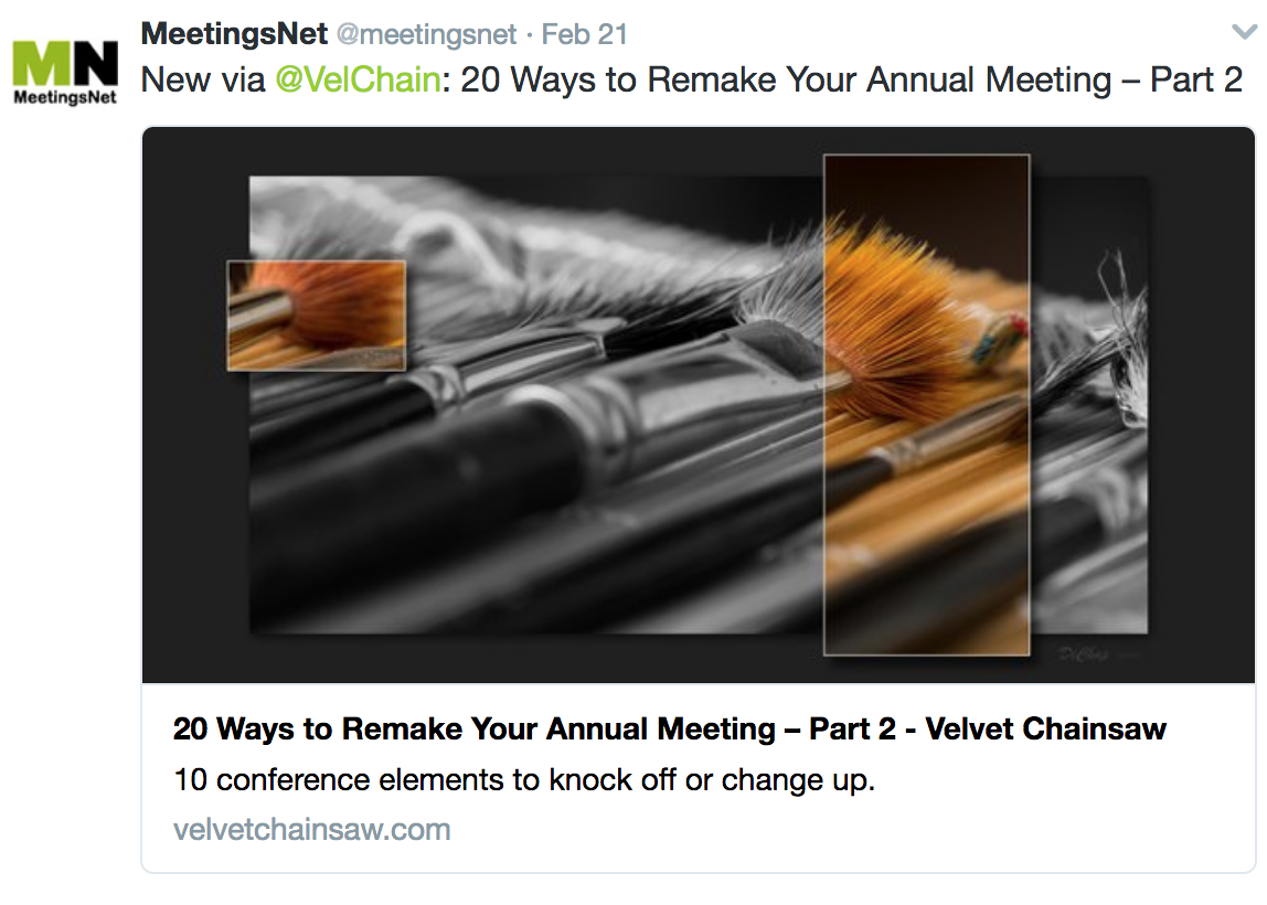 Twitter MeetingsNet