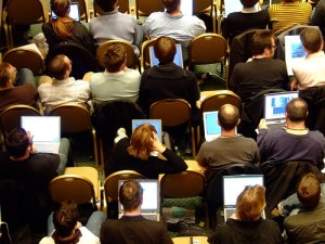 Open-computers-at-conference
