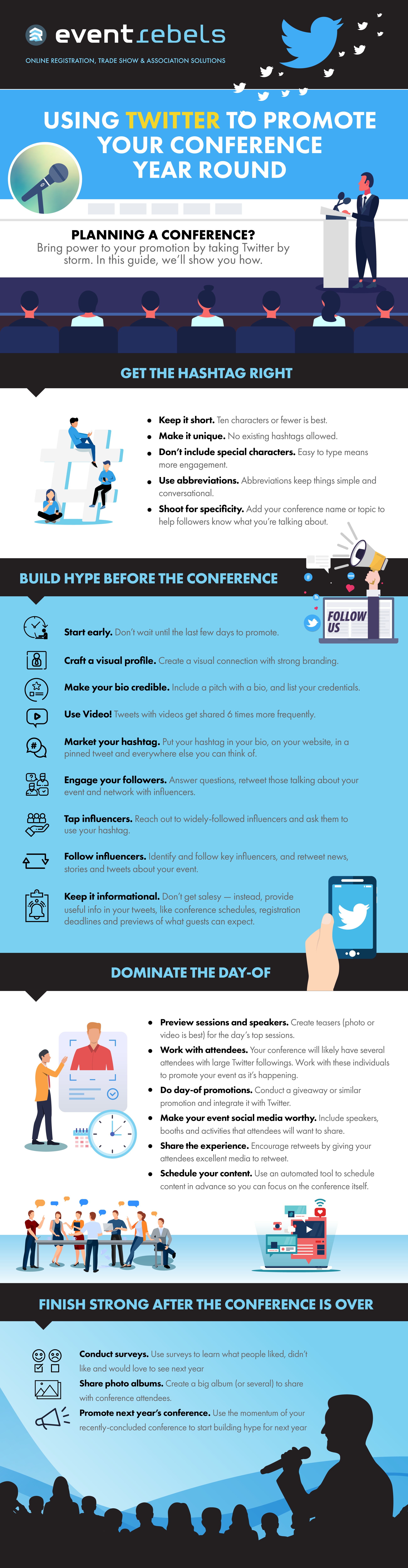 Using Twitter to Promote Your Conference Year Round